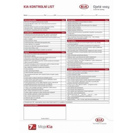 Formulář ojeté vozy 2017