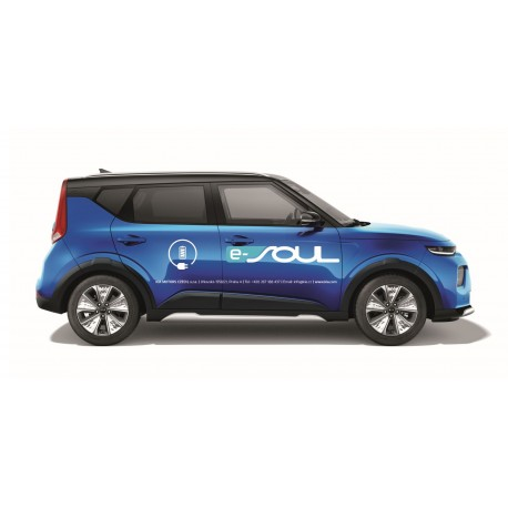 e-Soul - polep vozu