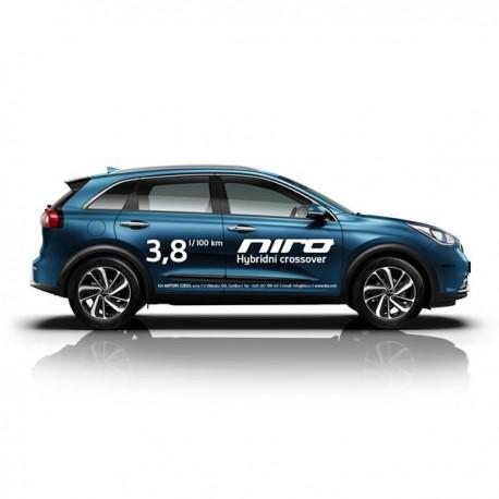 NIRO HEV - polep vozu