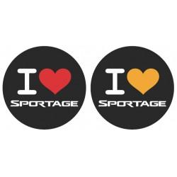 Samolepka Sportage - set
