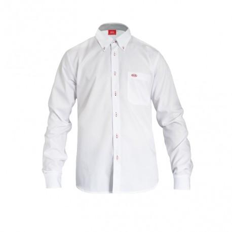 Košile Dealer - BÍLÁ