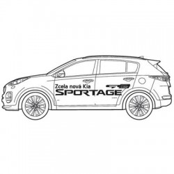 SPORTAGE + GTline- polep