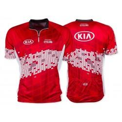 Cyklistický dres - červený